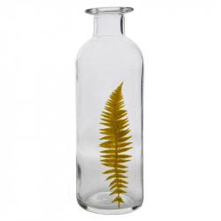 Flaska 26,5 cm med smalt ormbunksblad