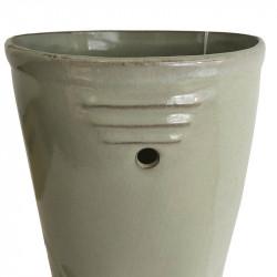 Gummistövel-vas i porslin, H: 36 cm