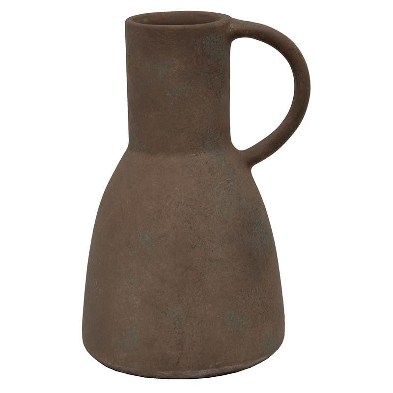 Kruka / Vas Vintage med handtag, 23 cm