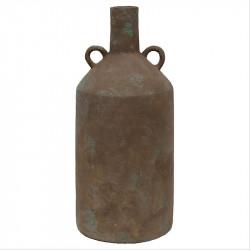 Vas vintage med två handtag, 41 cm