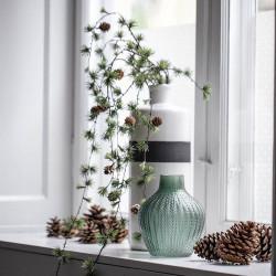 Vas med sprickmönstrad yta, 43 cm