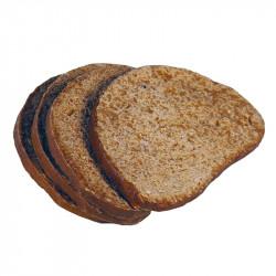 Mörkt bröd skivor, 4 st. konstgjord mat