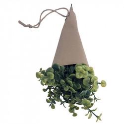 Kryddört, Oregano 32 cm i pappersomslag, konstgjord växt