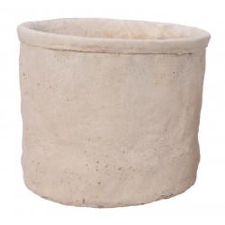 Cementkruka, H 23,5 cm
