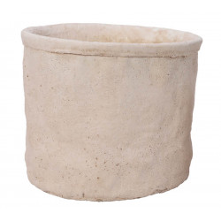 Cementkruka, H 12 cm
