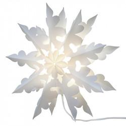 Snöflinga: Megane 109 till ljus och 3 m sladd D: 60 cm
