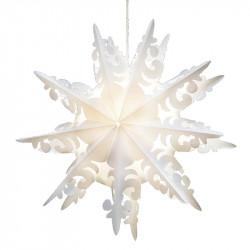Snöflinga: Ursalight 109 till lampa med 3 m ledningD: 46 cm D: