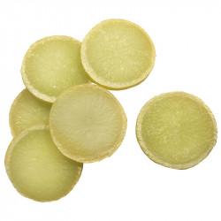 Citron i skivor, 6 st. konstgjord mat