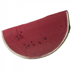 Vattenmelon-skiva, konstgjord mat