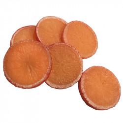 Apelsinskivor, 6 st. per påse, konstgjord mat