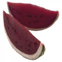 Vattenmelon-skivor, 2st. konstgjord mat