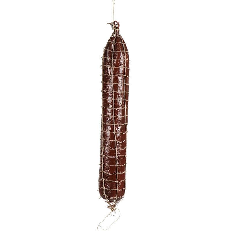 Korv / Salami med nät, konstgjord mat