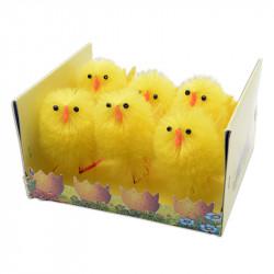 Kycklingar, 6,5 cm i 6-pack.