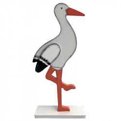 Stork på fot