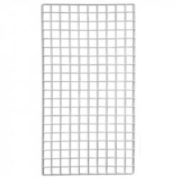 Dekogitter, vit, 50 x 100 cm