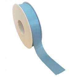 25 mm Satinband med kantsöm, Ljusblå