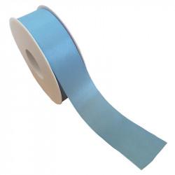 40 mm Satinband med kantsöm, Ljusblå