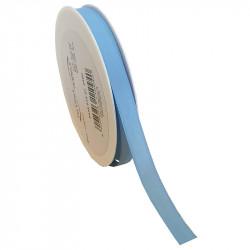 15 mm Satinband med kantsöm, Ljusblå