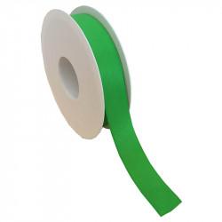25 mm Satinband med kantsöm, Ljusgrön