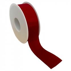 40 mm Satinband med kantsöm, Röd