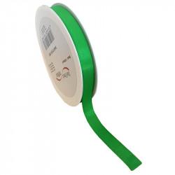 15 mm Satinband med kantsöm, Ljusgrön