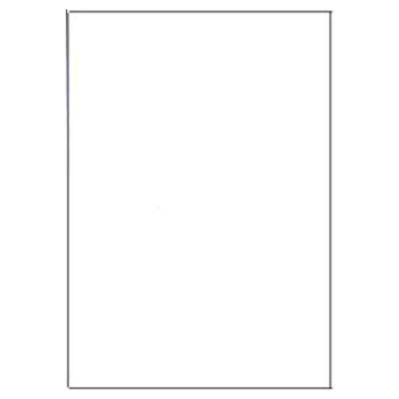 Vita skyltar A4