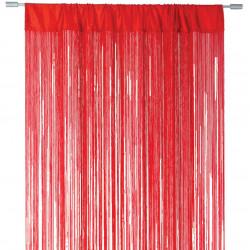 Lasalle trådgardin 300 x 300cm röd