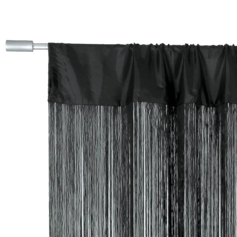 Lasalle trådgardin 300 x 300cm svart
