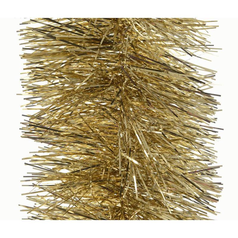 Glittergirlang, Ø 20 cm Guld