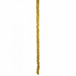 Glittergirlang, Ø: 7,5 cm Guld