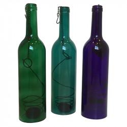 Flaska lykthållare med upphängning