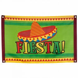"""""""Flagga """"""""Fiesta!"""""""" med 4 öglor"""""""