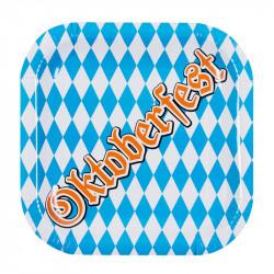 Papptallrikar med Oktoberfest-print 6 st./förpackning