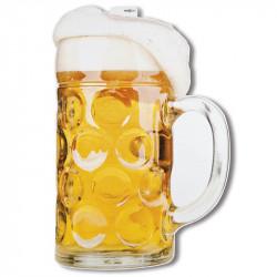 Papp-dekoration Ölglas