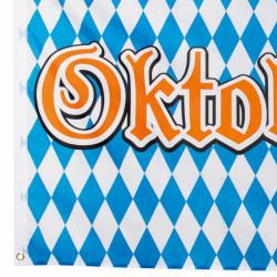 Flagga med Oktoberfest-print och 4 öljetter
