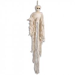Skelett-mumie med fästanordning