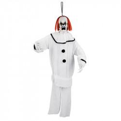 Psycho-clown med fästanordning