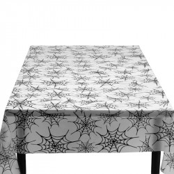 Halloween-bordsduk med spindelnät
