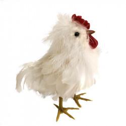 Påskkyckling i vit, 20 cm