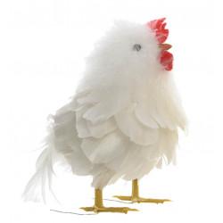 Påskkyckling i vit, 13 cm