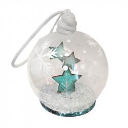 Julkula med stjärnor, 8 cm