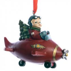 Julgransdekoration, Pojke i flygplan
