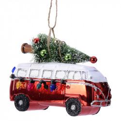 Julgransdekoration, Folkvagns-van med julgran