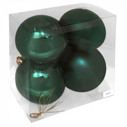 Julgranskulor, 10 cm, 4st./förpackning