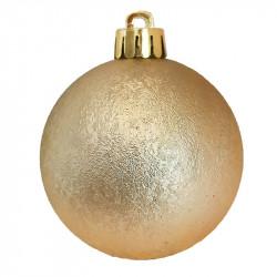 Julgranskulor, Guld-mix, 6 cm, 30 st./förpackning
