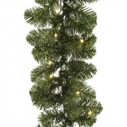 Imperial granranka med 50 LED-ljus, 20 cm x 270 cm,konstgjo rd