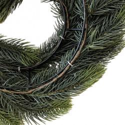 Grankrans 50 cm i rödgran, enkelsidig