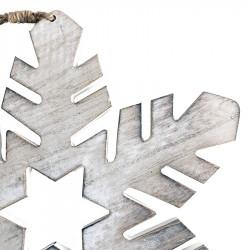Snöflinga med 6 spetsar