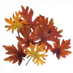 Lönnlöv / höstlöv 8 st/påse, konstgjorda löv