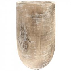 Trä i vas, H: 38 cm